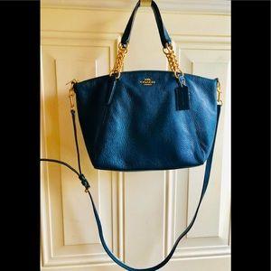 Coach Leather Bag w/Removable Shoulder Strap